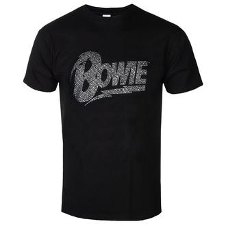 Moška metal majica David Bowie - Logo - ROCK OFF, ROCK OFF, David Bowie