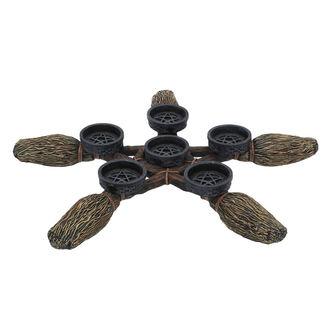 Dekorativni Svečnik - Broomstick Pentagram, NNM