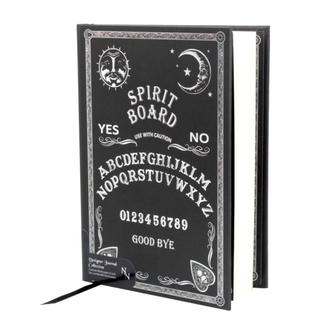 Pisalni zvezek Embossed Journal Black and White Spirit Board, NNM