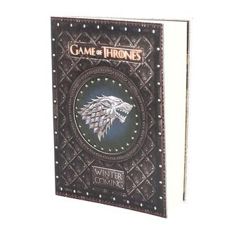 Pisalni zvezek Game of thrones - Winter is Coming, NNM, Igra prestolov