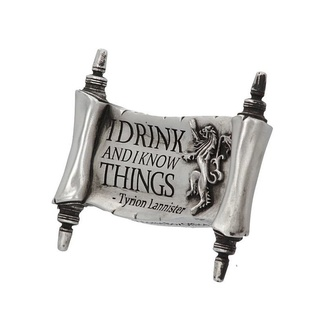 Magnet Game of thrones - I Drink and I Know, NNM, Igra prestolov