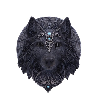 Stenska dekoracija Wolf - Moon, NNM