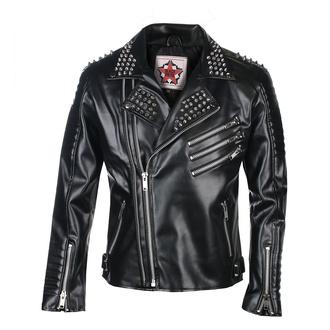 Moška jakna (metal jakna) BLACK PISTOL - Rockers - Sky Črno, BLACK PISTOL