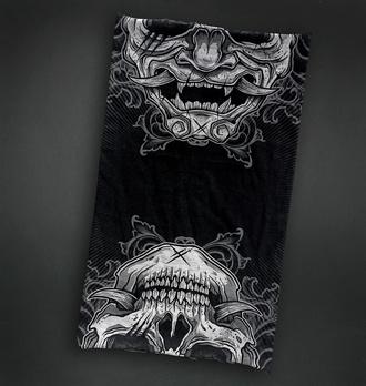 Grelnik vratu (bandana) HYRAW - SKULL, HYRAW