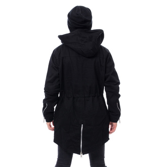 Moška jakna CHEMICAL BLACK - BASTIAN PARKA - ČRNA, CHEMICAL BLACK