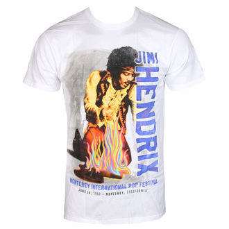 Moška metal majica Jimi Hendrix - RAINBOW GUITAR FIRE - BRAVADO, BRAVADO, Jimi Hendrix