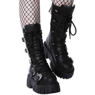 Škornji KILLSTAR - Beelzebub - Črna, KILLSTAR