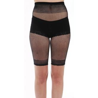 Kratke hlače ženske (nogavice) PAMELA MANN - Fishnet Cycling - Črno, PAMELA MANN