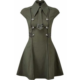 Ženska obleka KILLSTAR - Black-Ops - KHAKI, KILLSTAR