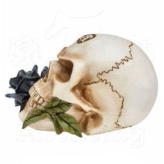 Dekoracija ALCHEMY GOTHIC - Alchemist Skull with Rose, ALCHEMY GOTHIC