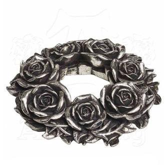 Svečnik (dekoracija) ALCHEMY GOTHIC - Black Rose, ALCHEMY GOTHIC