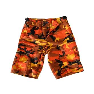 kratke hlače moški ZDA-BDU Kratek Uvozi - ORANGE, MMB