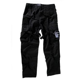 hlače moški BOOTS & BRACES - Pant Nightmare - Črno, BOOTS & BRACES