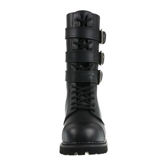 Unisex Usnjeni škornji - Phantom Boots with Buckle - BRANDIT