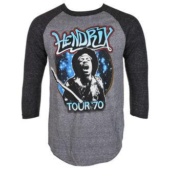 majica kovinski moški Jimi Hendrix - AUTHENTC 70 TOUR - BRAVADO, BRAVADO, Jimi Hendrix