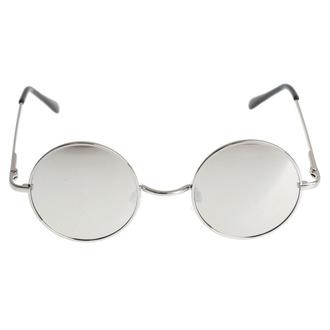 Sončna očala Lennon - srebrna - ROCKBITES, Rockbites