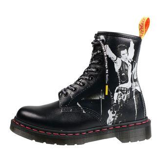 čevlji DR.MARTENS - 8 dírkové - Sex Pistols - backhand straw grain, Dr. Martens, Sex Pistols