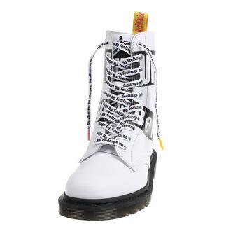 čevlji DR.MARTENS - 10 dírkové - Sex Pistols - BACKHAND - White, Dr. Martens, Sex Pistols