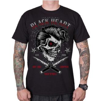 Moška ulična majica - DENY BOY - BLACK HEART, BLACK HEART