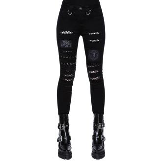 Ženske hlače KILLSTAR - Carnage Jeans, KILLSTAR