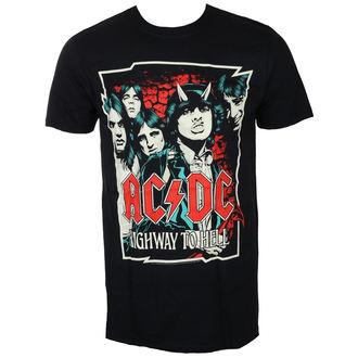 majica kovinski moški AC-DC - CARTOON - LIVE NATION, LIVE NATION, AC-DC