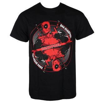 Moška filmska majica Deadpool - BAD GOOD - LIVE NATION, LIVE NATION