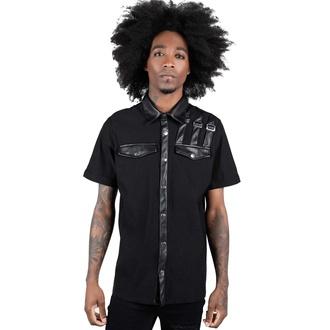 Moška srajca KILLSTAR - Corporate Hell - Črna, KILLSTAR