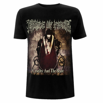 Moška majica Cradle Of Filth - Cruelty And The Beast - Gildan Heavy - Črna, NNM, Cradle of Filth