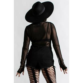 Ženska majica z dolgimi rokavi KILLSTAR - Cursed - Črna, KILLSTAR