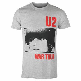 Moška majica U2 War Tour - SIVA - ROCK OFF, ROCK OFF, U2