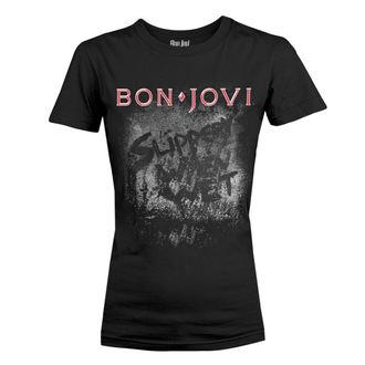 Ženska Metal Majica Bon Jovi - SLIPPERY WHEN WET ALBUM - PLASTIC HEAD, PLASTIC HEAD, Bon Jovi