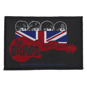 Našitek The Beatles - Union Jack Guitar - RAZAMATAZ, RAZAMATAZ, Beatles
