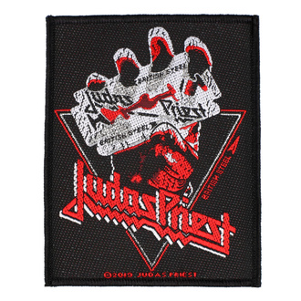 Našitek Judas Priest - British Steel Vintage - RAZAMATAZ, RAZAMATAZ, Judas Priest