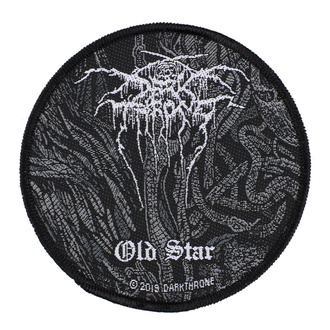 Našitek Darkthrone - Old Star - RAZAMATAZ, RAZAMATAZ, Darkthrone