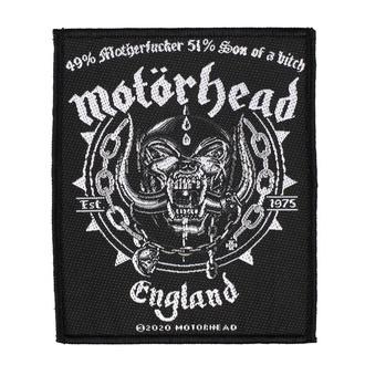 Našitek Motörhead - Ball & Chain - RAZAMATAZ, RAZAMATAZ, Motörhead