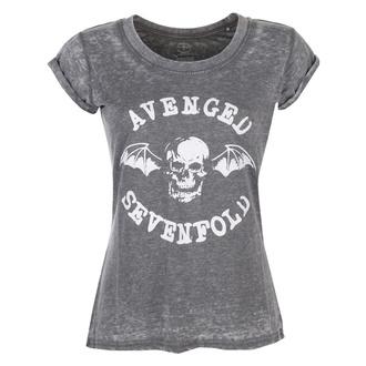 Ženska metal majica Avenged Sevenfold - Deathbat - ROCK OFF, ROCK OFF, Avenged Sevenfold