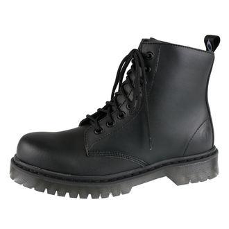 Ženski usnjeni čevlji ALTERCORE - Vegetarian - Črna - 651D