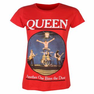 Ženska majica Queen - Another One Bites The Dust RED - ROCK OFF, ROCK OFF, Queen