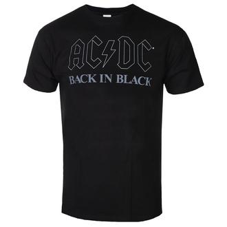 Moška majica AC / DC - Back In Black - BL - ROCK OFF - ACDCTS82MB