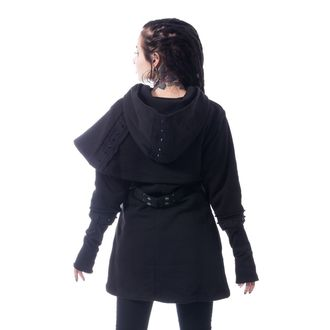 Ženska jopa s kapuco - DARK CAPE - CHEMICAL BLACK, CHEMICAL BLACK