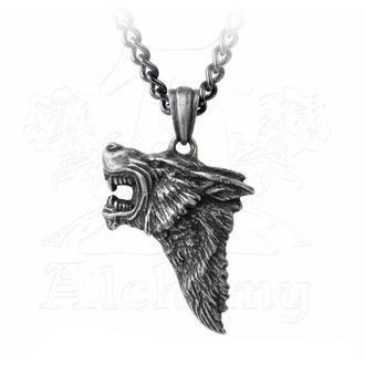 Ogrlica z obeskom ALCHEMY GOTHIC - Dark Wolf, ALCHEMY GOTHIC
