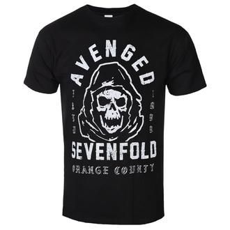 Moška majica Avenged Sevenfold - So Grim Orange - ROCK OFF, ROCK OFF, Avenged Sevenfold