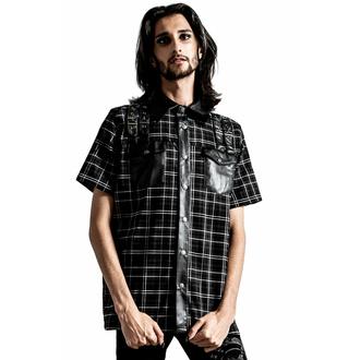 Moška srajca KILLSTAR - Daze Button-Up - ASH TARTAN, KILLSTAR