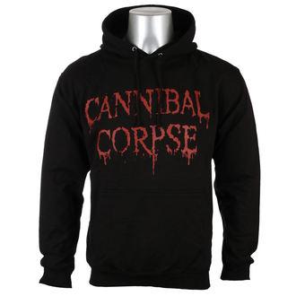jopa s kapuco moški Cannibal Corpse - DRIPPING LOGO - PLASTIC HEAD, PLASTIC HEAD, Cannibal Corpse