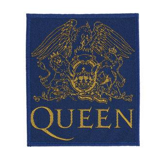 Našitek Queen - Crest - RAZAMATAZ, RAZAMATAZ, Queen