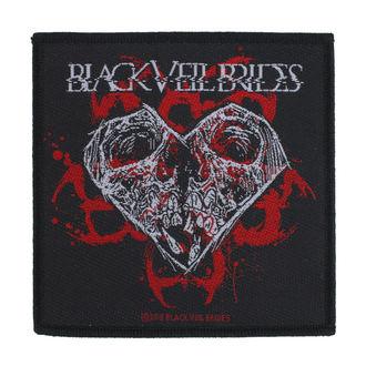 Našitek Black Veil Brides - Skull Heart - RAZAMATAZ, RAZAMATAZ, Black Veil Brides