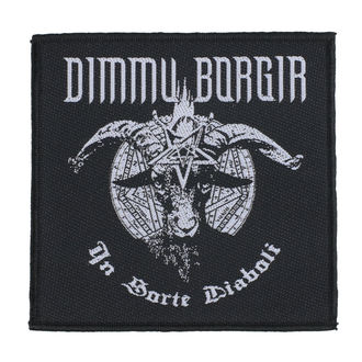 Našitek Dimmu Borgir - In Sorte Dlaboll - RAZAMATAZ, RAZAMATAZ, Dimmu Borgir