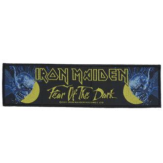 Našitek Iron Maiden - Fear 01 The Dark - RAZAMATAZ, RAZAMATAZ, Iron Maiden