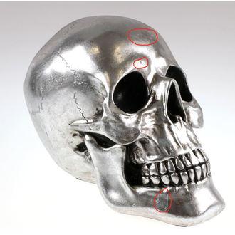 dekoracija Lobanja - Silver - 78/5742 - ZAŠČITA