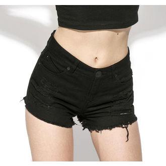 Kratke hlače ženske BLACK CRAFT - Midnight Denim, BLACK CRAFT